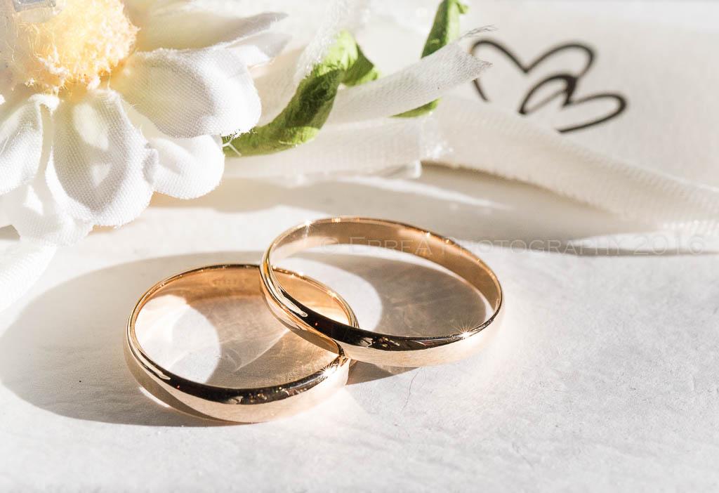 Reportage di matrimonio - Gli anelli