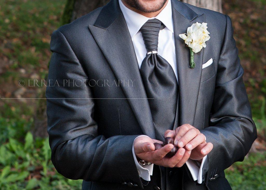 Reportage matrimonio - dettagli sposo