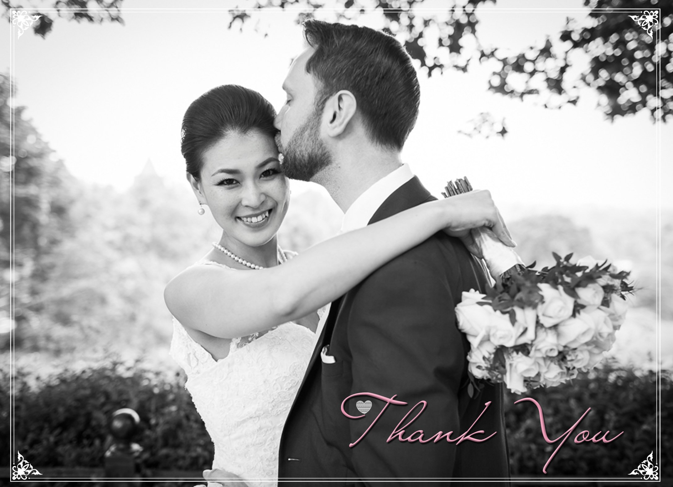 Thank you cards - Fotografo matrimoni Verona