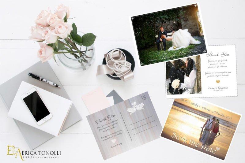 Partecipazioni fotografiche matrimonio - Fotografo Verona