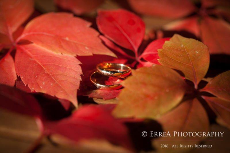 Reportage di matrimonio Verona - gli anelli