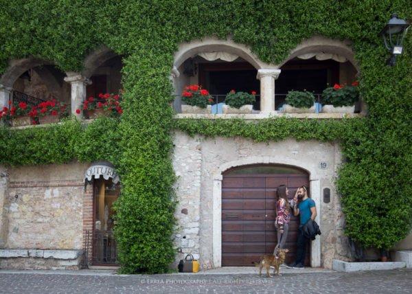 Servizio fotografico fidanzati Lago di Garda