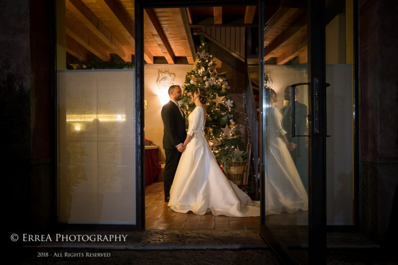 Matrimonio invernale natale Verona