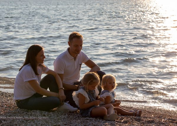 Servizio fotografico famiglia - Lago di garda